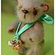 Мишки Тедди ручной работы. Заказать Мишутка Степочка2. Сказка рядом. Ярмарка Мастеров. Мишка тедди, хлопок