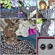 Украшения handmade. Livemaster - original item Bracelet Grey pearl Baroque. Pearls grey freshwater overflow. Handmade.