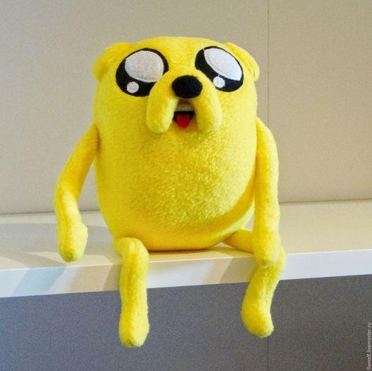 Сказочные персонажи ручной работы. Ярмарка Мастеров - ручная работа. Купить Время приключений. Adventure Time Джейк каркас. Handmade.
