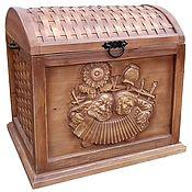 Хранение вещей ручной работы. Ярмарка Мастеров - ручная работа Хранение вещей: Сундук. Handmade.