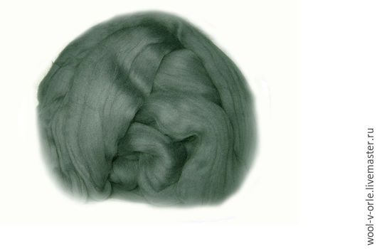 """Валяние ручной работы. Ярмарка Мастеров - ручная работа. Купить Цвет """"Туча"""". Тонкая шерсть мериноса 23 мкм. Handmade."""